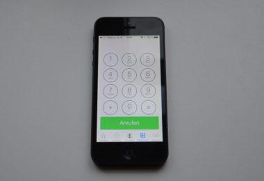 iPhone Telefon-App
