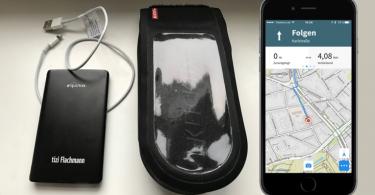 iPhone-Fahrrad