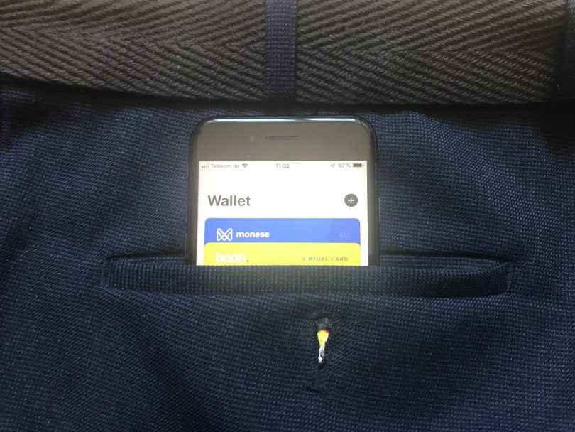 Wallet auf dem iPhone