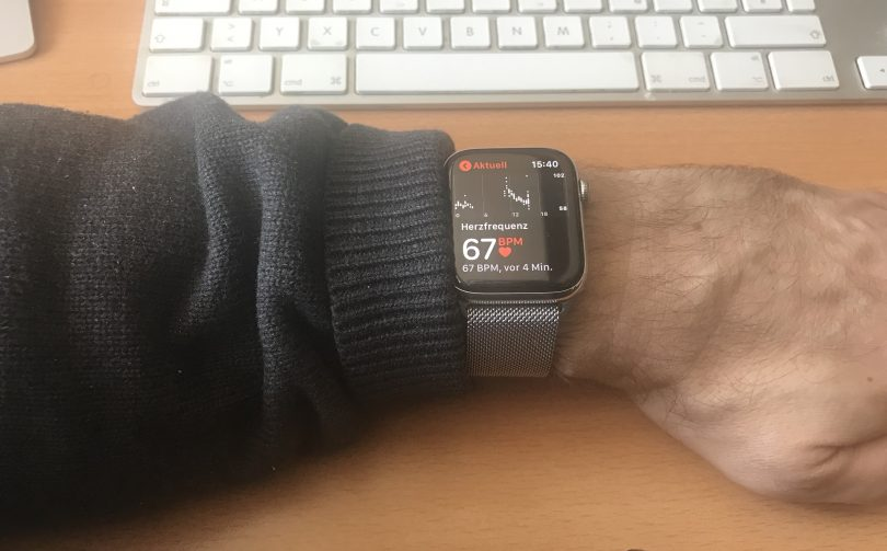 Apple Watch Pulsmessung