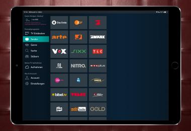 Screenshot YOUTV-App