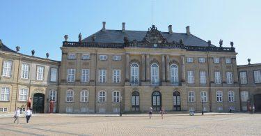 Foto vom Schloss Amalienborg