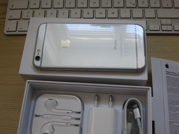 Foto von der Rückseite des iPhone 6