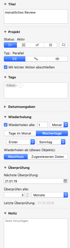 Screenshot des Meta-Daten-Dialogs in OmniFocus