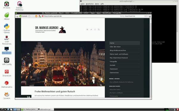 Grafisches Debian-System auf dem Raspberry Pi