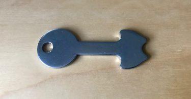 Foto meines Einkaufswagen-Master-Schlüssels