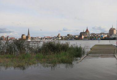 Foto der Rostocker Skyline