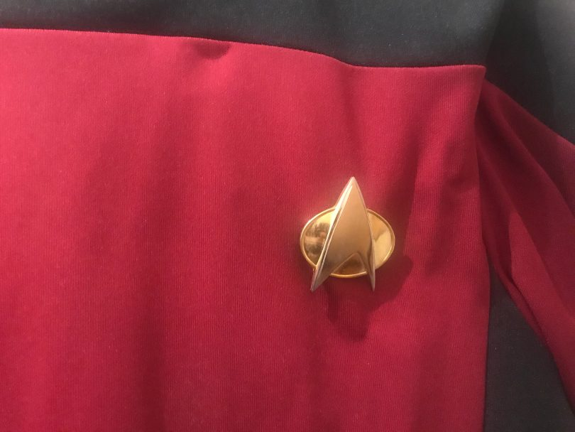 Foto einer Star-Trek-Uniform