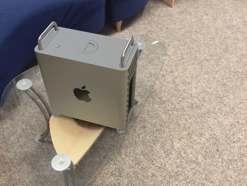 Mac Pro mit AR visualisiert