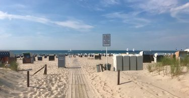 Foto vom Warnemünder Strand