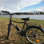 Foto meines Fahrrads auf einer WIese