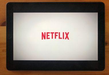 Foto der Netflix-App auf dem iPad