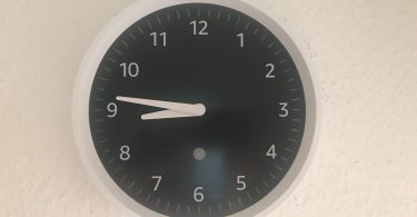 Foto der Echo Wall Clock