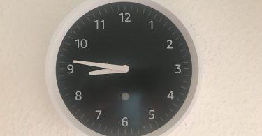 Foto der Echo Wall Clock