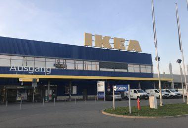Foto vom IKEA in Rostock
