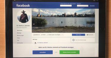 Facebook-Seite Markus Jasinski