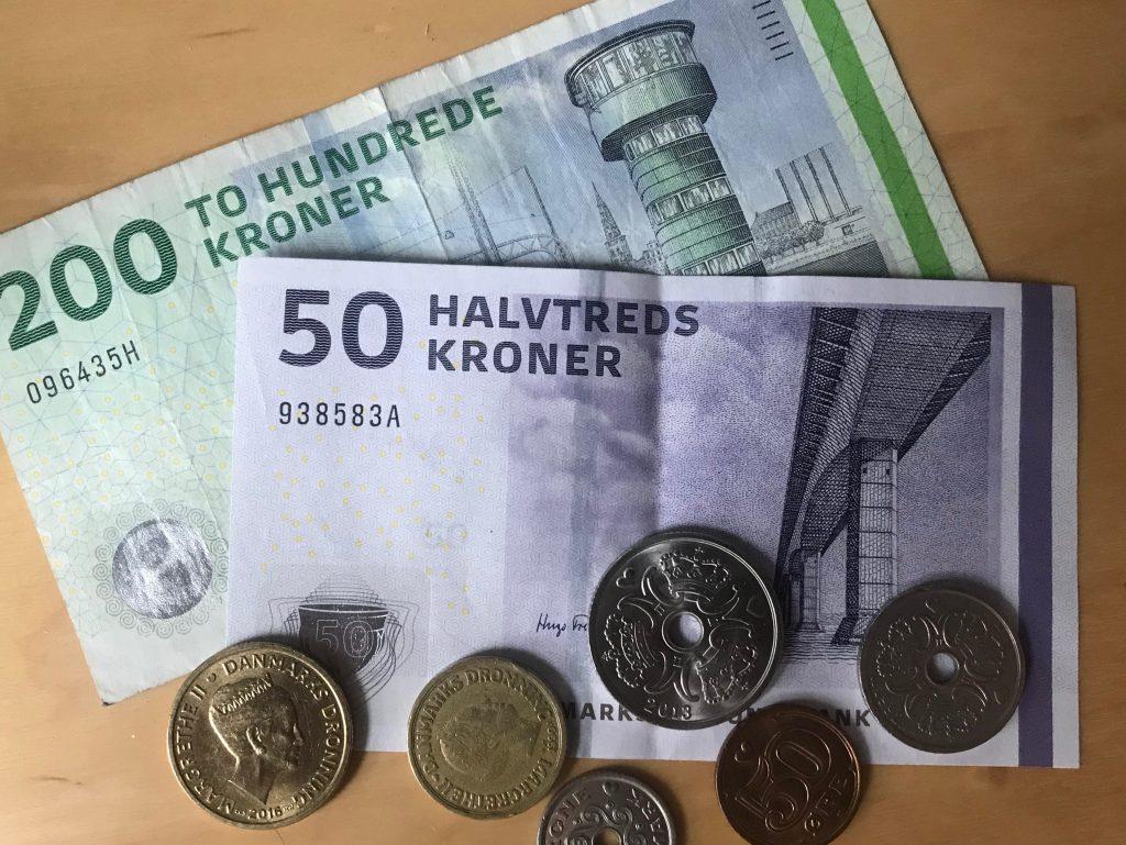 Foto von dänischem Geld