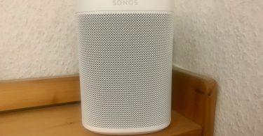 Foto eines Sonos One
