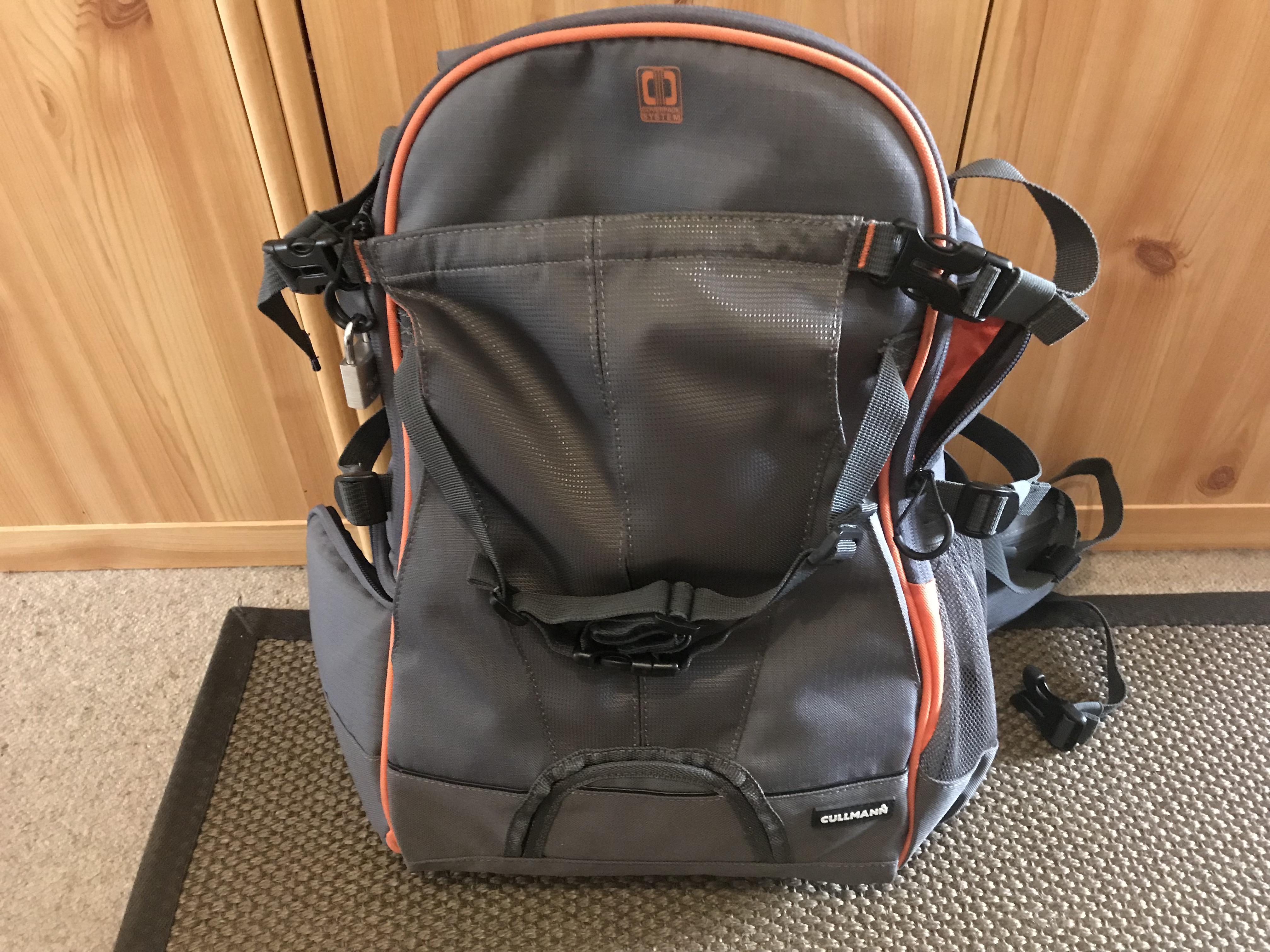 Fahrradrucksack und Trekking Rucksack anlegen und einstellen