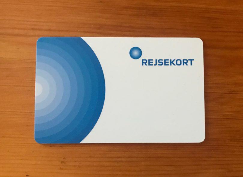 Foto meiner Rejsekort
