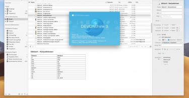 DEVONthink 3 für macOS