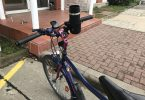 Foto meines Fahrrad-Getränkehalters