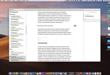 Screenshot von Ulysses für macOS