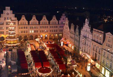 Foto vom Rostocker Weihnachtsmarkt