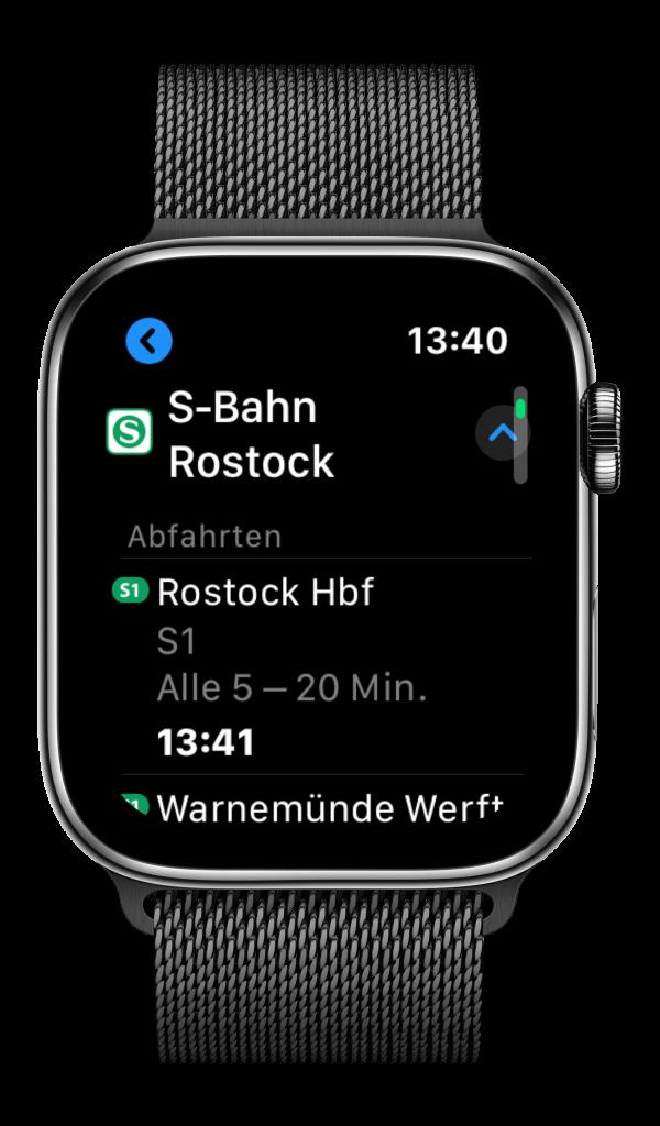 Apple Maps auf der Apple Watch