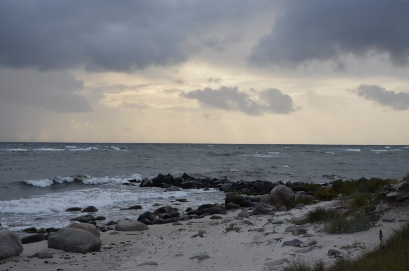 Strand auf der Insel Bornholm
