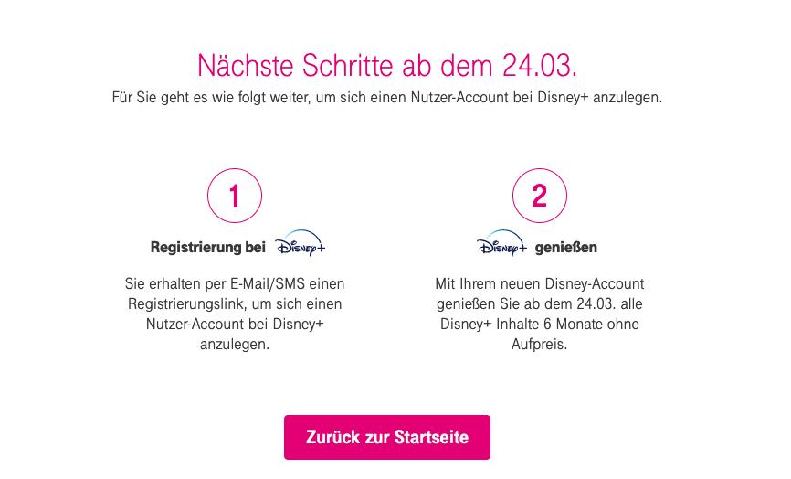 Disney-Telekom-Aktion