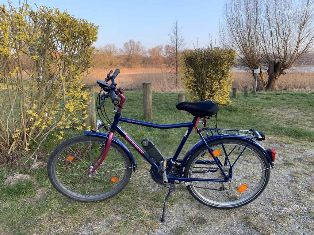 Fahrrad am Sildemower See