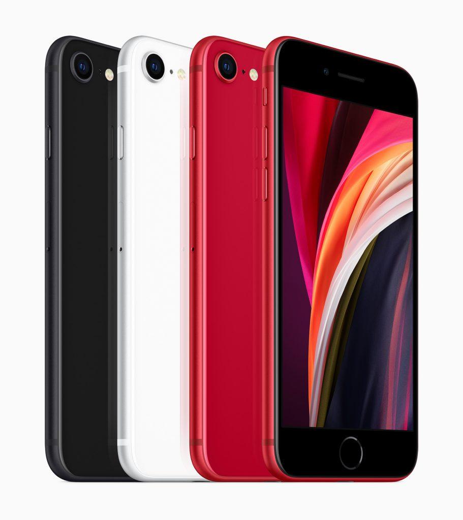 Die Farben des neuen iPhone SE