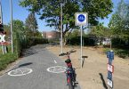 Erster Radschnellweg in Rostock