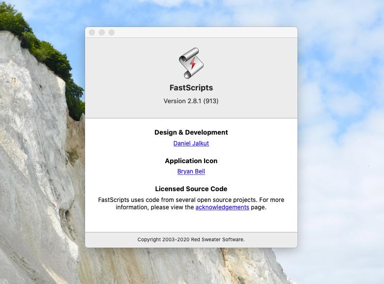 FastScripts für macOS