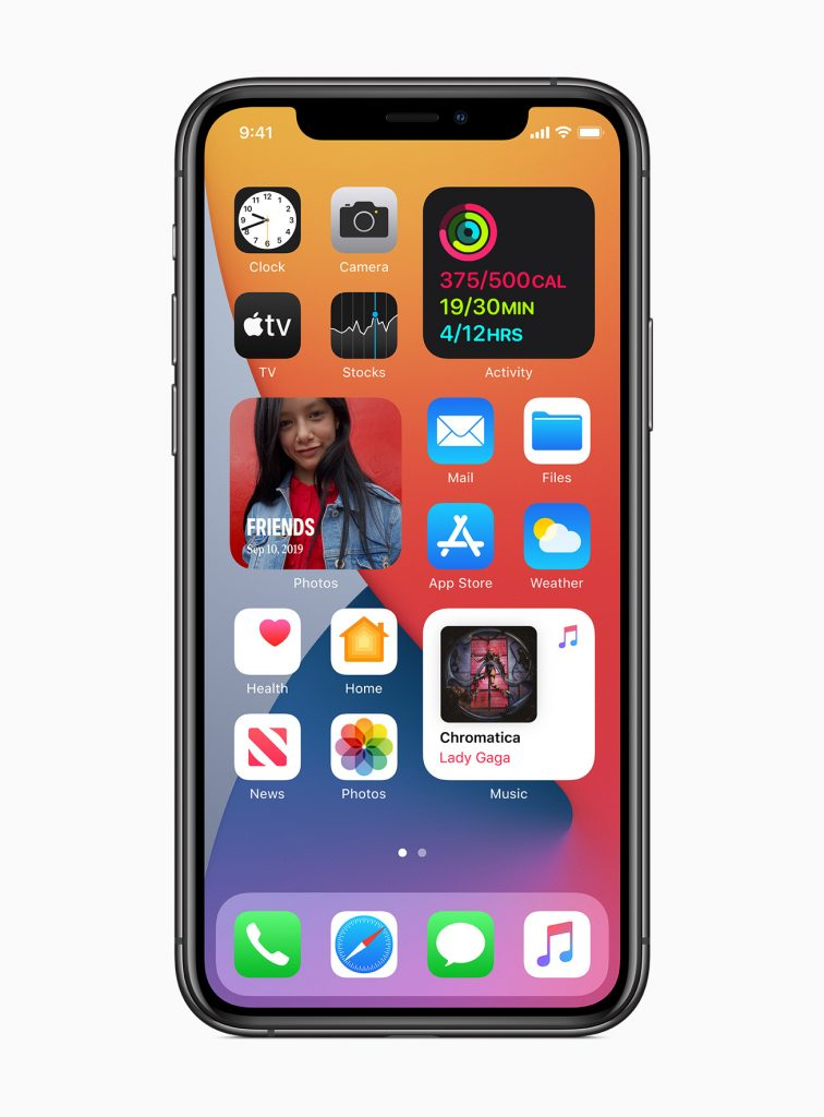 iOS 14 (Screenshot)