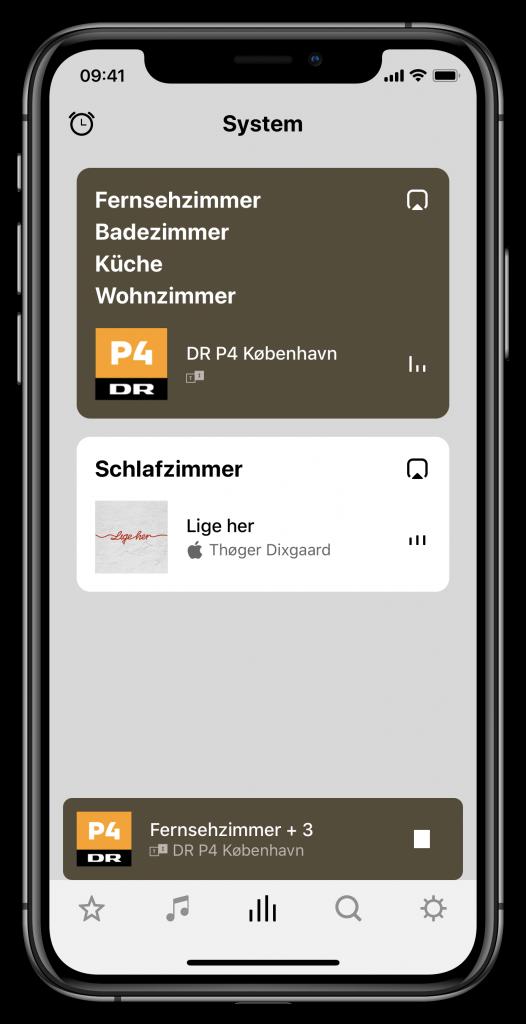 Sonos S2-App (Screenshot)