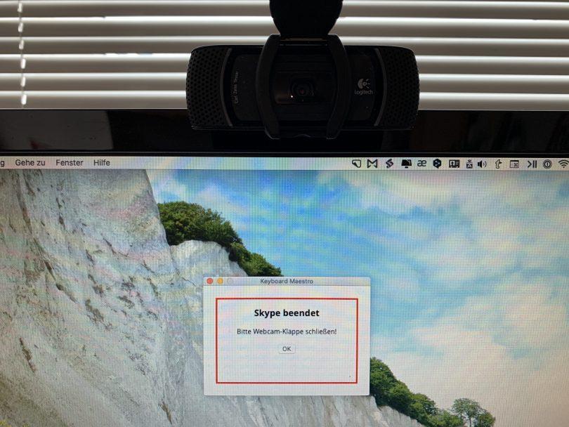 Webcam Privacy-Reminder