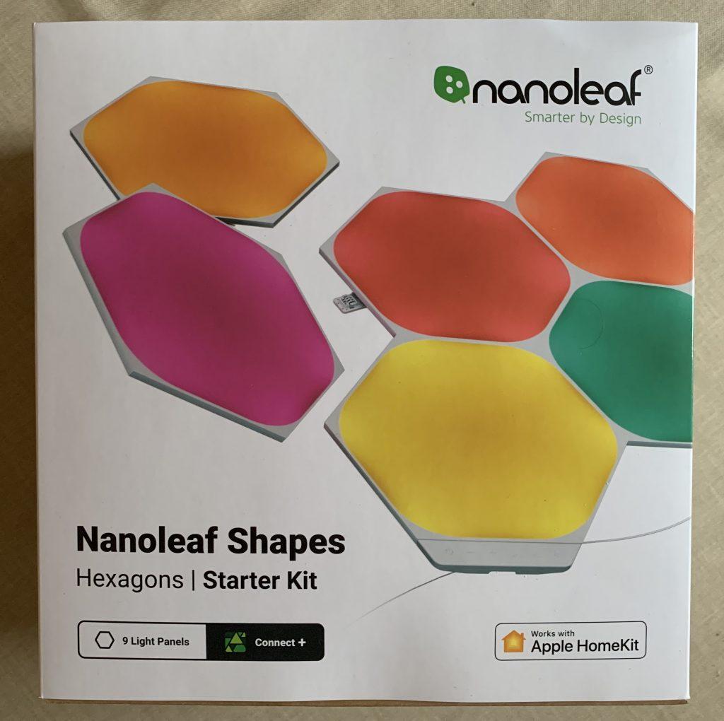 Nanoleaf-Verpackung meines Starterpacks
