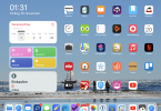 Mein iPad-Homescreen