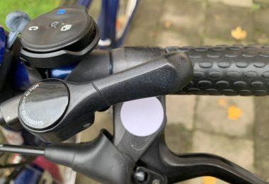 NFC-Aufkleber auf meinem Fahrrad
