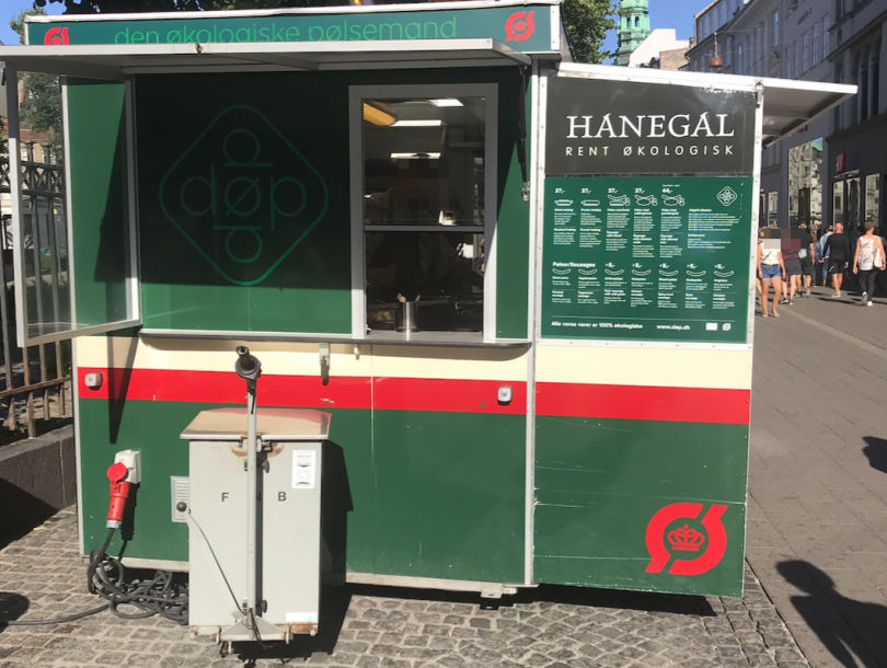 Pølsevogn in Kopenhagen