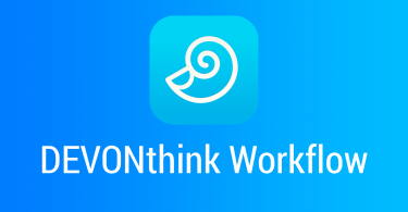 DEVONthink-Workflow