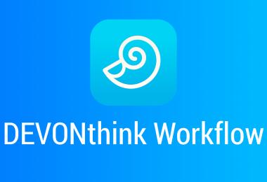 DEVONthink-Workflow