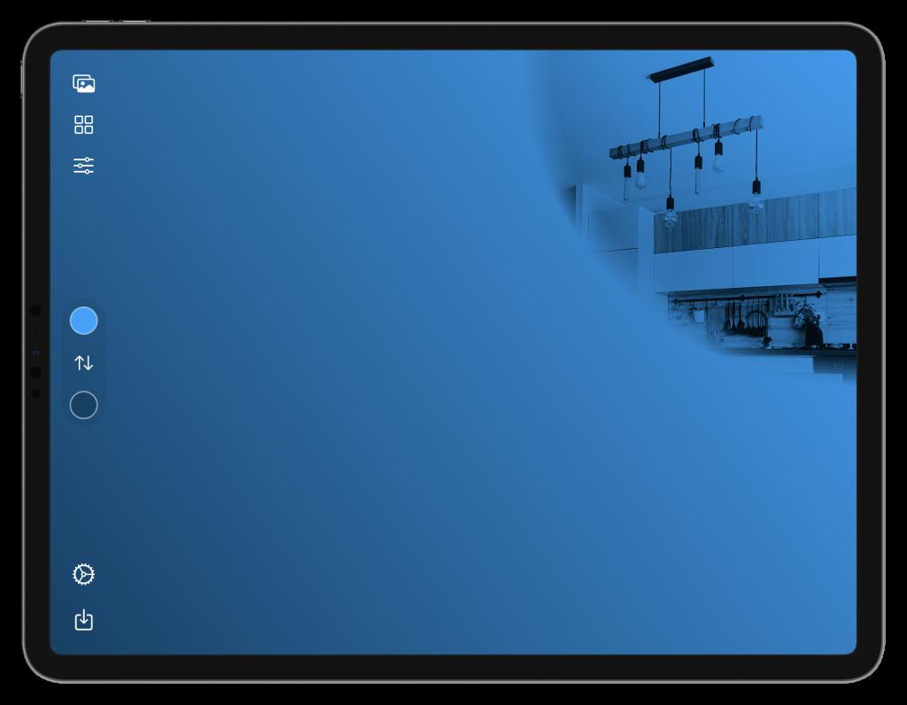 HomePaper für iPad (Screenshot)