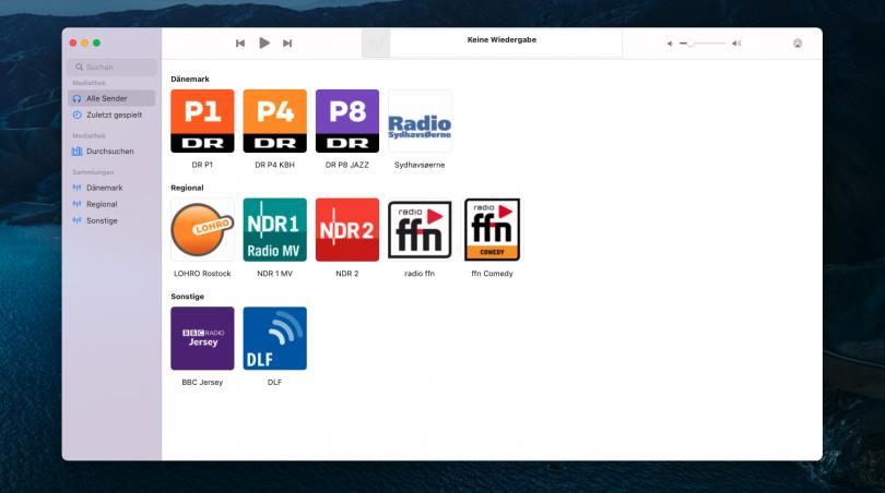 Broadcasts App