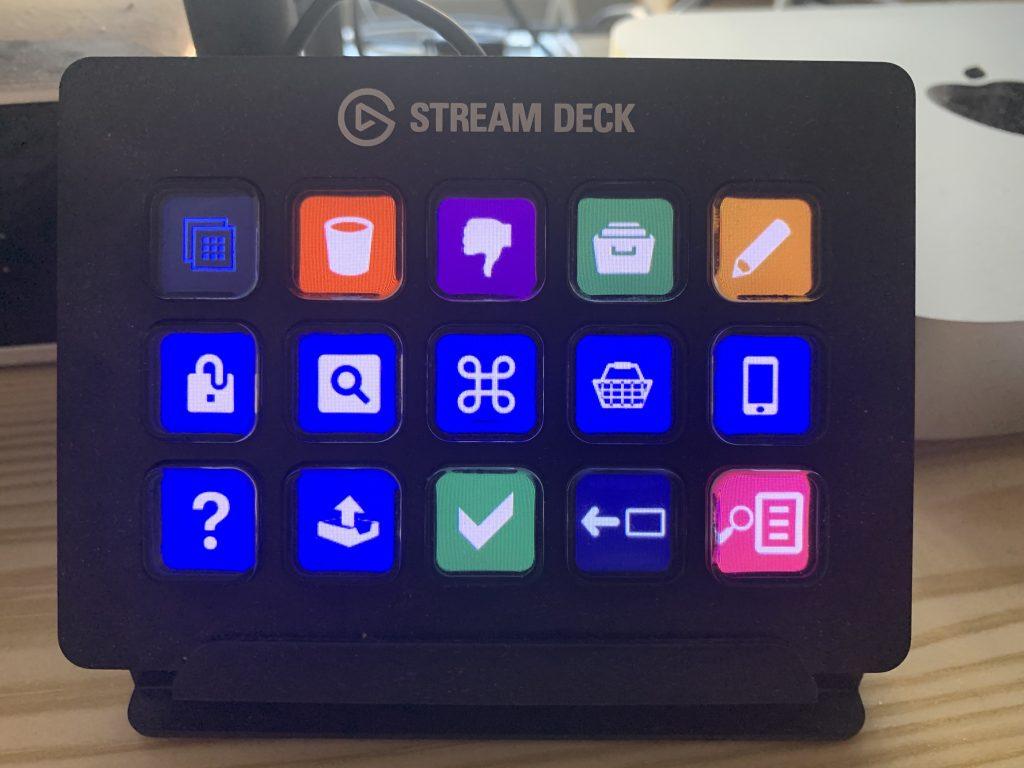 Stream-Deck-Profil für die Mail-App