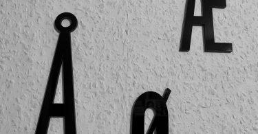 Dänische Sonderzeichen