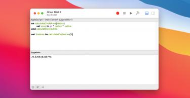 AppleScript Teil 7