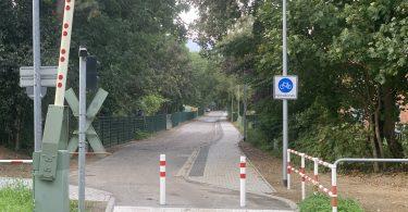 Fahrradstraße Dr.-Lorenz-Weg Rostock